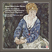 Hauer: Violin Concerto, etc / Christian, Rabl, et al