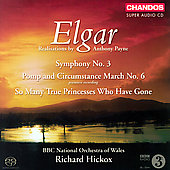 Elgar: Symphony no 3, etc / Hickox, et al