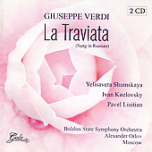 Verdi: La traviata, etc (sung in Russian) / Orlov, et al