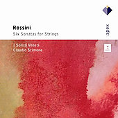 Rossini: 6 Sonatas for Strings / Scimone, I Solisti Veneti