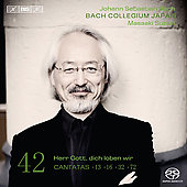 Bach: Cantatas Vol 42 / Masaaki Suzuki, Bach Collegium Japan, et al