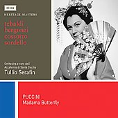 Puccini: Madama Butterfly / Serafin, Tebaldi, Bergonzi, Cossotto, Sordello, et al