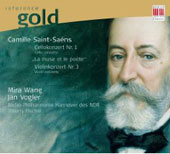 Reference Gold - Saint-Saëns: Violin, Cello Concertos, etc / Thierry, Vogler, Wang, et al
