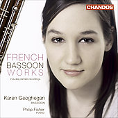 French Bassoon Works - Debussy, Fauré, Koechlin, Dutilleux, etc / Geoghegan, Fisher