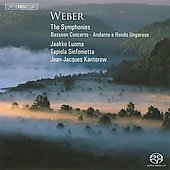 Weber: The Symphonies; Bassoon Concerto; Andante e Rondo Ungarese