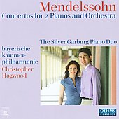 Felix Mendelssohn Bartholdy: Concertos For 2 Pianos & Orchestra