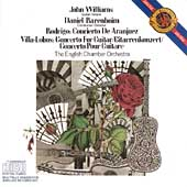 Rodrigo, Villa-Lobos: Guitar Concertos / Williams, Barenboim