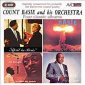 Count Basie: April in Paris/King of Swing/The Atomic Mr. Basie/The Greatest