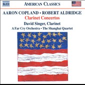 Aldridge, Copland: Clarinet Concertos