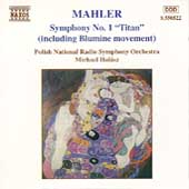 Mahler: Symphony No. 1 / Michael Halász, Polish National RSO