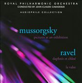 Mussorgsky: Pictures; Ravel: Daphnis et Chlo&eacute; Suite No. 2
