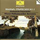 Brahms: Symphonie no 2, etc / Bernstein, Vienna PO