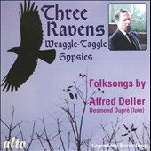 Three Ravens / Wraggle-Taggle Gypsies / Folksongs by Alfred Deller with Desmond Dupr&eacute;, lute