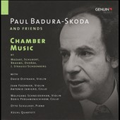 Chamber Music by Mozart, Brahms, Schubert, Dvorak et al / Paul Badura-Skoda, piano [4 CDs]