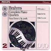 Brahms: Complete Piano Quartets / Trampler, Beaux Arts Trio