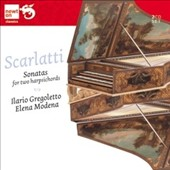 Domenico Scarlatti: Sonatas for 2 Harpsichords / Ilario Gregoletto and Elena Modena, harpsichords