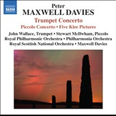 Maxwell Davis: Piccolo Concerto; Trumpet Concerto; Maxwell's Reel; Five Klee Pictures / Stewart McIlwham, piccolo; John Wallace, trumpet