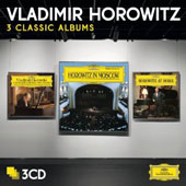 3 Classic Albums: The Studio Recordings; Horowitz in Moscow; Horowitz at Home / Vladimir Horowitz, piano