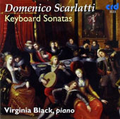 Domenico Scarlatti: 12 Keyboard Sonatas / Virginia Black, piano