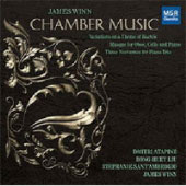 James Winn: Chamber Music / Dmitri Atapine, cello; Rong-Huey Lui, oboe; Stephanie SantÆAmbrogio, violin; James Winn, piano