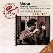 Mozart: Serenata Notturna, etc / Peter Maag, London SO