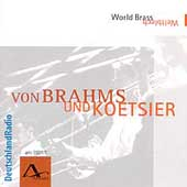 Brahms: Intermezzi, etc;  Koetsier / World Brass