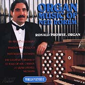 Organ Music of Ned Rorem - Fantasy, etc / Ronald Prowse