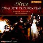 Arne: Complete Trio Sonatas / Standage, Collegium Musicum 90