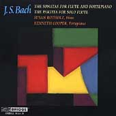 Bach: Sonatas for Flute and Fortepiano, etc /Rotholz, Cooper