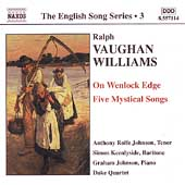 The English Song Series 3 - Vaughan Williams