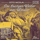 Nicolai: Die Lustigen Weiber von Windsor / Altmann, et al