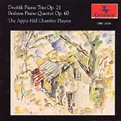 Dvorak: Piano Trio;  Brahms: Piano Quartet / Apple Hill