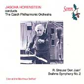 Strauss: Don Juan;  Brahms / Horenstein, Czech PO