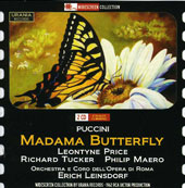 Puccini: Madama Butterfly / Leontyne Price, Richard Tucker, Philip Maero. Erich Leinsdorf