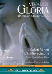 Antonio Vivaldi - Gloria and Other Sacred Works / Claudio Scimone / Wiener Singakademie Choir Solists [DVD]
