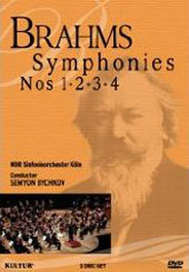 Brahms: Complete Symphonies / Bychkov/WDR SO [2 DVD]