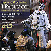 Leoncavallo: I Pagliacci / Serafin, di Stefano, Callas