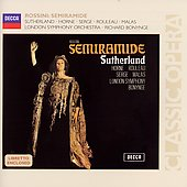 Rossini: Semiramide / Bonynge, Sutherland, Horne