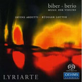 Music for Violins - Biber, Berio / Arditti, Lotter, Lyriarte