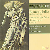 Prokofiev: Symphony no 1, etc / Simonov, Royal PO