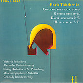 Tischenko: Concerto for Violin & Piano Op 144, etc