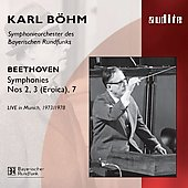 Beethoven: Symphonies 2, 3 & 7 / B&#246;hm, et al
