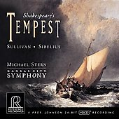 Shaekespeare's Tempest: Sibelius, Sullivan / Stern, et al