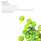 Nielsen: Symphony no 5, Flute Concerto, etc / Elder, et al