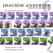 Andersen: Works for Flute Vol 6 / Thomas Jensen, Frode Stengaard