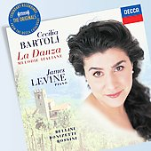 The Originals - An Italian Songbook - Bellini, Donizetti, Rossini / Cecilia Bartoli, James Levine