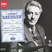 Icon - Fritz Kreisler plays Mozart, Beethoven, Brahms, Elgar, etc
