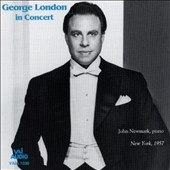 George London In Concert