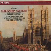 Handel: Coronation Anthems, etc / Marriner, ASMF & Chorus