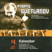 Kalinnikov: Symphony No. 2; Intermezzo No. 1; Serenade for String Orchestra